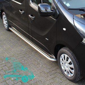 Opel Vivaro treeplanken