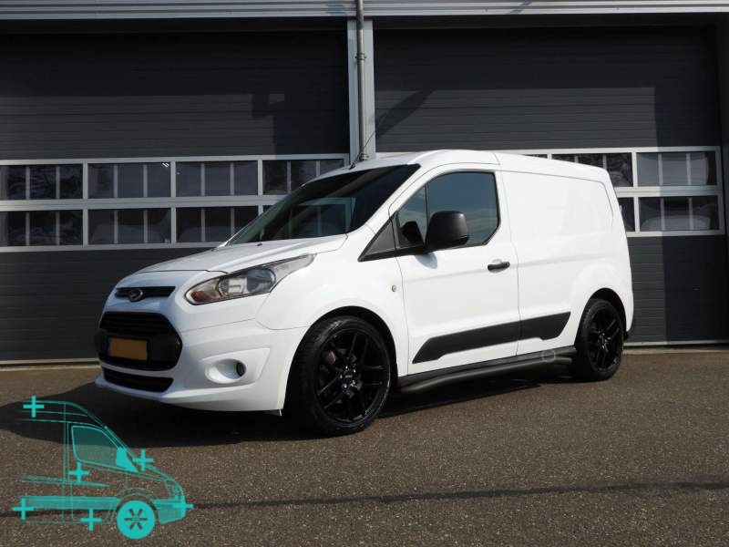 ford connect r-serie sidebars zwart