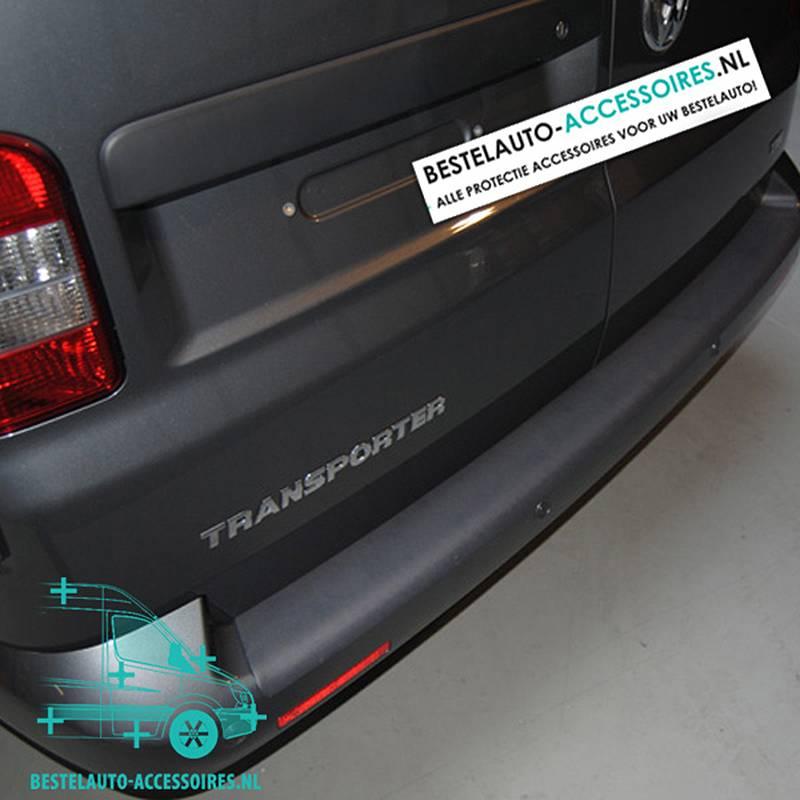 Bumperbescherming-Volkswagen-Transporter-T6-T5-Kunstof-Zwart-1-1