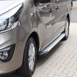 Sidesteps aluminium Opel Vivaro