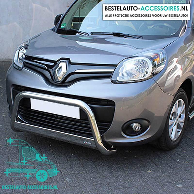 Pushbar-Renault-Kangoo-Bullbar-Chroom