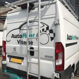 achterdeur ladder aluminium bestelauto (1)
