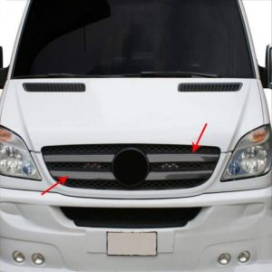 Grill sprinter 2006 black chrome 4 delig