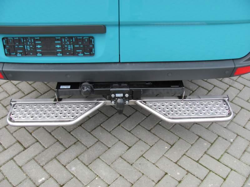 Verrassend Achteropstap Mercedes Sprinter RVS | Sprinter & Crafter 2006+ XU-72