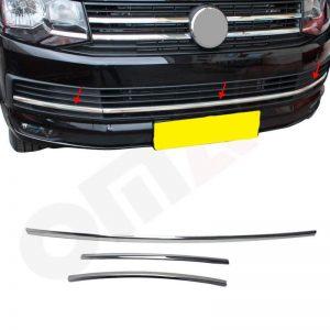 volkswagen t6 ondergrill chrome strip